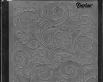 Darice Embossing Folder  --  New  -- Vine Pattern  --  (#1775)