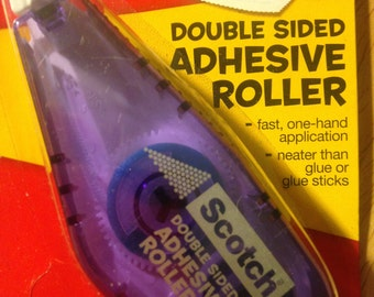 Scotch Brand  --  Double Sided Adhesive Roller  --  Permanent adhesive   --  NEW  --  (#755)