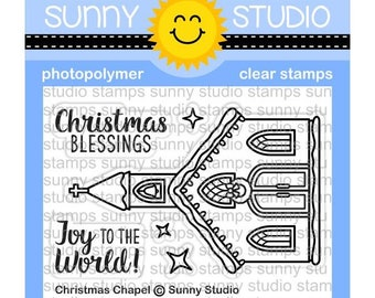 Sunny Studio -- Christmas Chapel  -- NEW -- (#3151)
