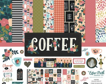12 x 12 Collection Kit ~ Coffee ~    NEW  (#4025)