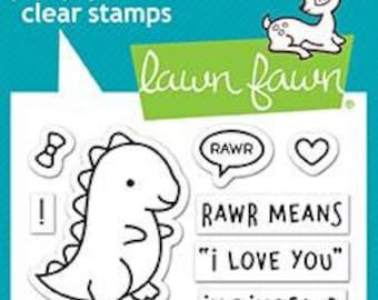 Lawn Fawn --  RAWR   -- NEW -- (#4178)