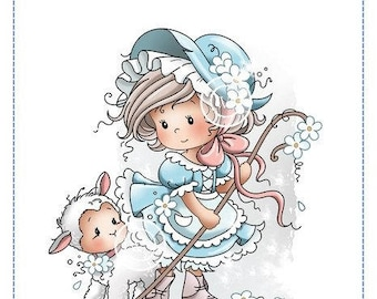 Whimsy Stamps -- Mary  -- NEW -- (#2216)