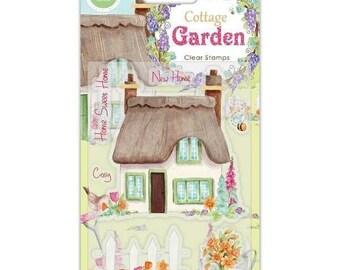 Craft Consortium -- Cottage Garden stamp set -- NEW  -- (#3571)