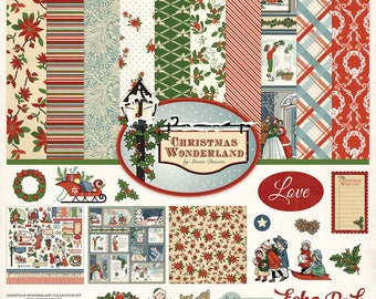 12 x 12 Collection Kit ~ Christmas Wonderland ~    NEW  (#3927)