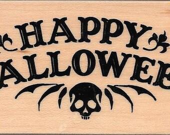Halloween  Stamp --  NEW -- Happy Halloween --  (#2798)