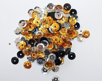 Clear Scraps -- Sequins  -- GLAMOUR -- NEW  (#3540)