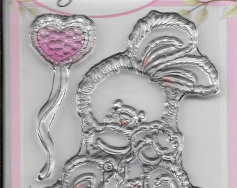 Wild Rose Studio Clear Stamp -- NEW -- Baby Bunny -- (#2780)