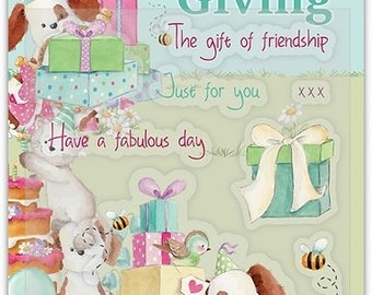 Craft Consortium --  The Gift of Friendship  -- NEW  -- (#4047)