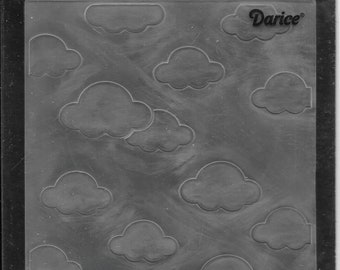 Darice Embossing Folder -- New -- Clouds -- (#3054)