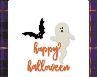 Echo Park - Ghostly Halloween Die set -  Halloween -  NEW  (#4067)