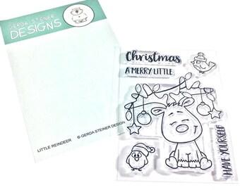 Gerda Steiner Designs --  Little Reindeer  -- NEW -- (#3205)