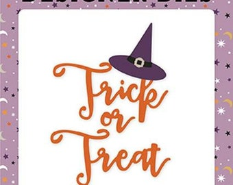Echo Park - Trick or Treat Hat Die set -  Halloween -  NEW  (#4070)