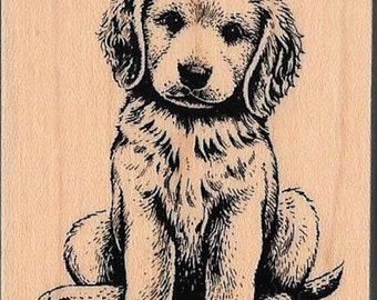 Dog/Puppy Stamp -- NEW -- Wood Mounted Rubber Stamp --  (#2793)