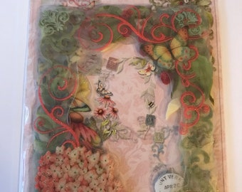 K & Company Acetate Frames -- SW Floral Acetate Frames -- NEW -- (#3088)