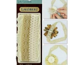 Laliberi -- Lace Headbands -- NEW -- 3 pieces -- DIY Designs -- (#179)