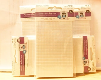 Forever In Time  --  Adhesive Foam Mount Squares   --  NEW  --  (#3327C)