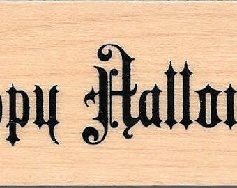 Halloween  Stamp --  NEW -- Happy Halloween --  (#2796)