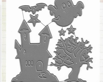 Echo Park - Haunted Mansion Die set -  Halloween -  NEW  (#3371)