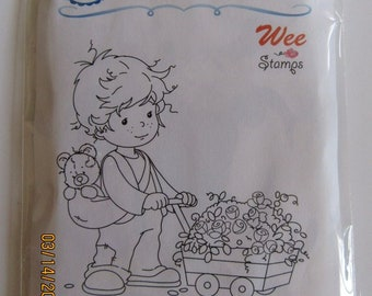 Whimsy Stamps --  Sam's Special Delivery -- NEW  -- (#2885)