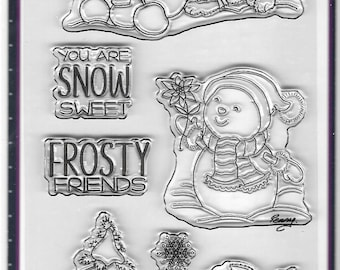 Your Next Stamp -- Frosty Friends -- NEW -- (#2845)
