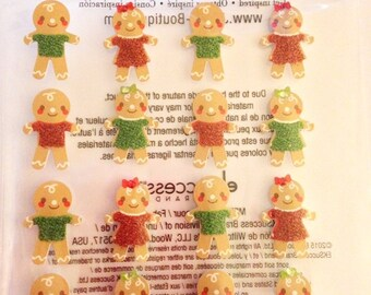 Jolee's Boutique -- Gingerbread Men Repeat -- NEW --  (#1874)
