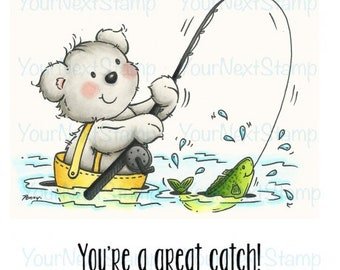 Your Next Stamp -- Great Catch -- NEW -- (#2725)