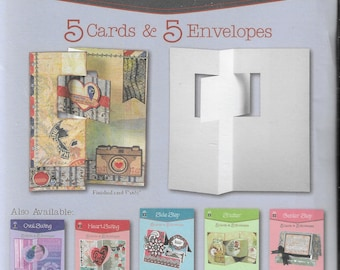 Hot Off the Press  -  Rectangle Swing - NEW - (#3422) Card Making Kit