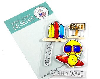 Gerda Steiner Designs -- Catch A Wave -- NEW -- (#3194)