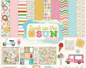 12 x 12 Collection Kit ~    Soak Up The Sun  ~      NEW  (#3919)