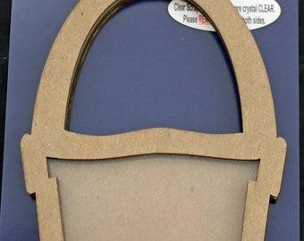 Clear Scraps -- Mini Shaker  --  Bucket  -- NEW  (#3959)
