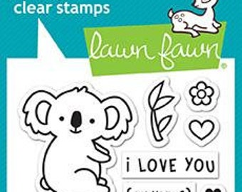 Lawn Fawn --  I Love You(Calyptus)   -- NEW -- (#4184)