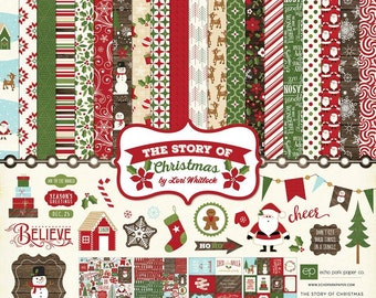 12 x 12 Collection Kit ~ The Story of Christmas ~    NEW  (#3928)