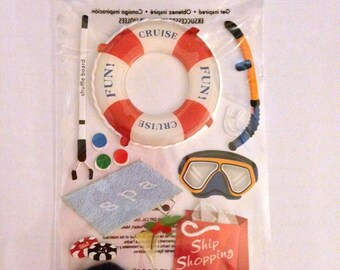 Jolee's Boutique --  Cruise Activities Dimensional Stickers -- NEW --  (#1825)