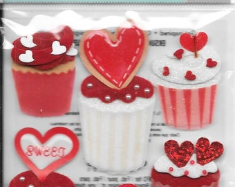 Jolee's Boutique -- Cupcakes -- NEW --  (#3070)