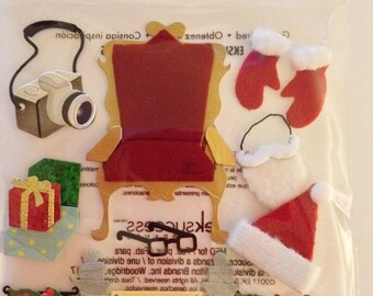 Jolee's Boutique -- Pictures with Santa -- NEW --  (#1872)
