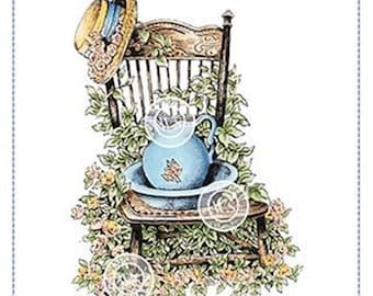 Whimsy Stamps -- Ivy Chair -- NEW -- (#3187)