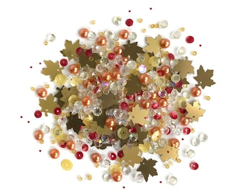 Buttons Galore -- Sparkletz  --  FALL FOLIAGE  -- NEW  (#3698)