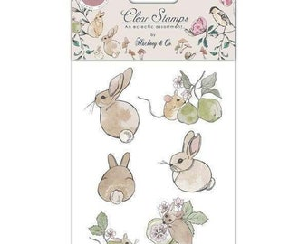 Craft Consortium -- English Garden Stamp set  -- NEW  -- (#3568)