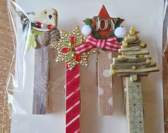 Jolee's Brand  --  Holiday Mini Clips Repeat   --   NEW  --   (#1905) Christmas