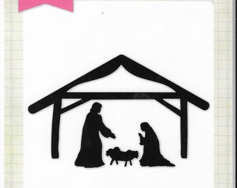 Echo Park - Holy Family Nativity Die set   -  NEW  (#3376)