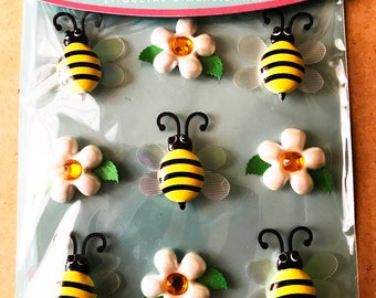 Jolee's Boutique -- Bumblebee Cabochon -- NEW -- (#3076)