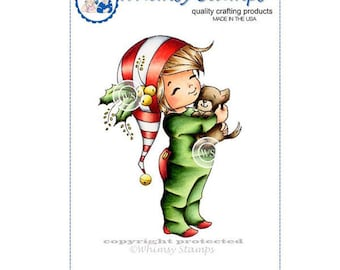 Whimsy Stamps -- Little Jack and Bobbin Christmas  -- NEW -- (#2625)