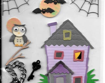 Jolee's -- Lock and Key -- dimensional stickers -- NEW (#2534) Halloween
