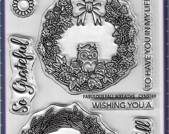 Your Next Stamp --   Fabulous Fall Wreaths    -- NEW -- (#4119)