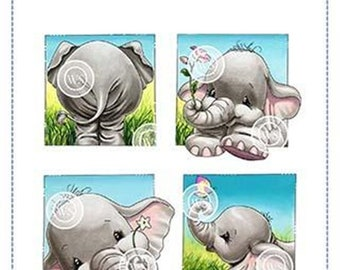 Whimsy Stamps -- Ellie Summer Squares -- NEW -- (#3177)