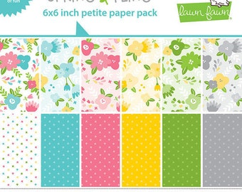 6 x 6 Paper Pad ~ Spring Fling  ~ Double sided NEW (#4195)