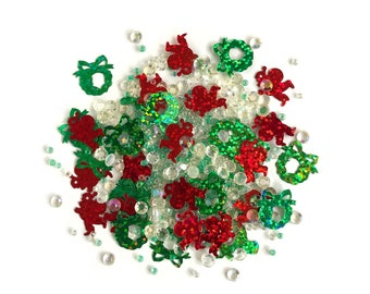 Buttons Galore -- Sparkletz  --  SANTA'S HERE  -- NEW  (#3696)