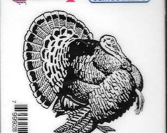Deep Red Cling Stamps --  Turkey  -- NEW -- (#2811)