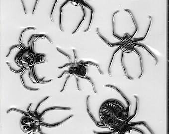 Jolee's -- Black & White Spiders Stickers -- Halloween -- NEW (#2804)