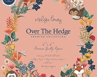 6 x 6 Paper Pad ~ Over The Hedge ~ Double sided  - NEW (#3501)